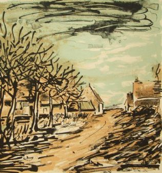 Maurice de Vlaminck original colour lithograph